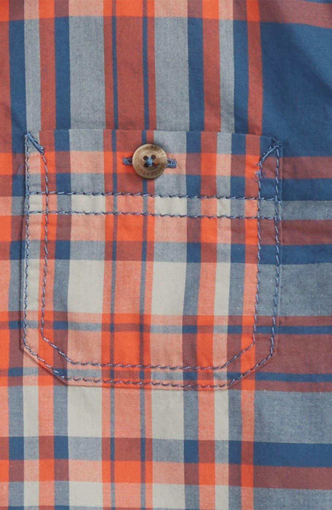 ,                             'Photo' Buffalo Plaid Woven Shirt,                             Alternate thumbnail 25, color,                             412