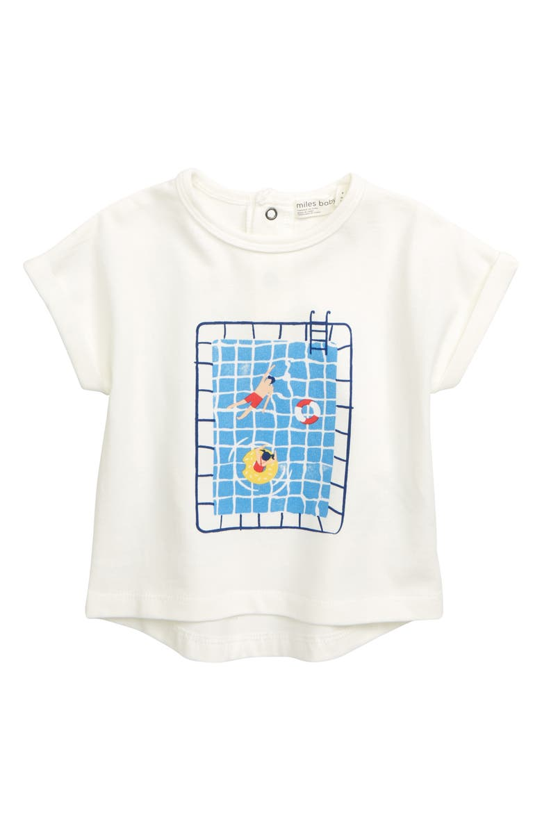MILES BABY Graphic T-Shirt, Main, color, 900