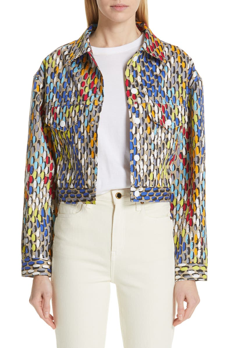 SIMON MILLER Morgo Crop Jacket, Main, color, 400