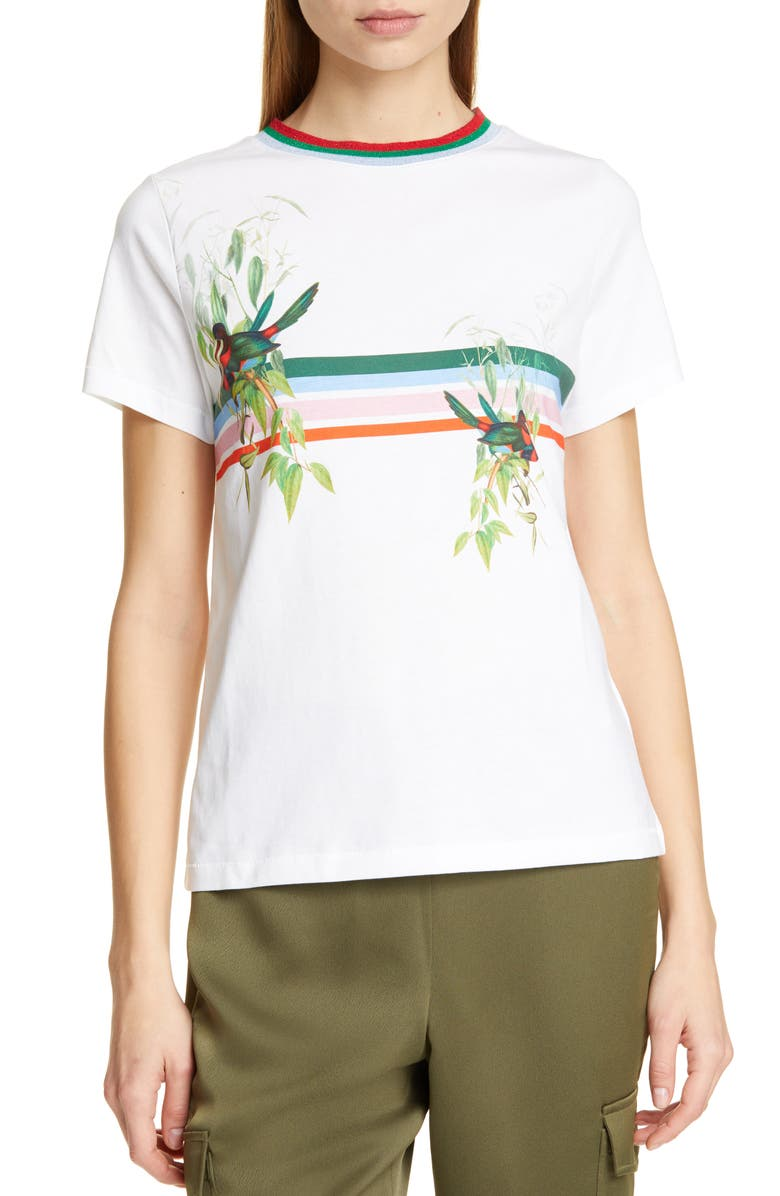 TED BAKER LONDON Kathlin Tutti Frutti Tee, Main, color, 110