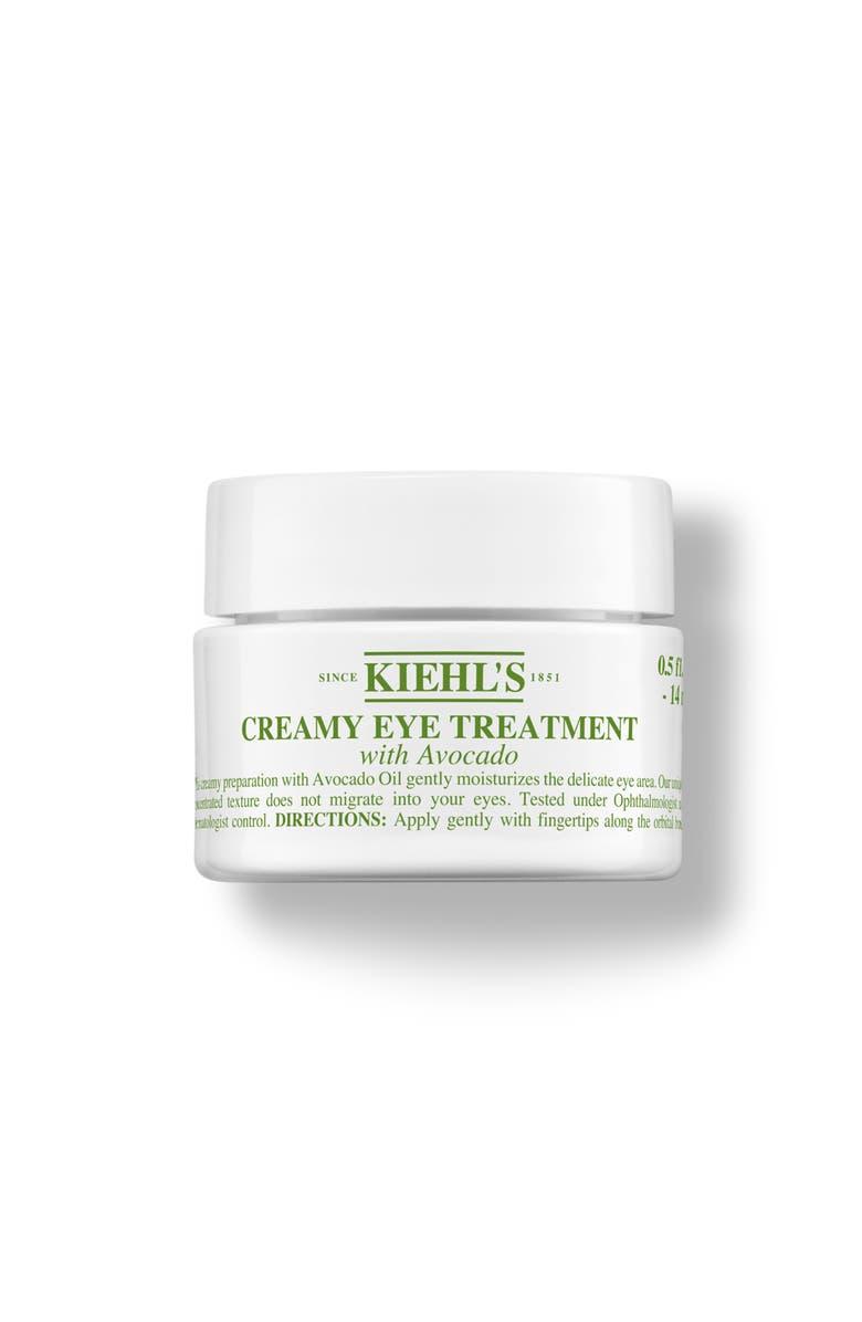 KIEHL'S SINCE 1851 Creamy Eye Treatment with Avocado Nourishing Eye Cream, Main, color, NO COLOR