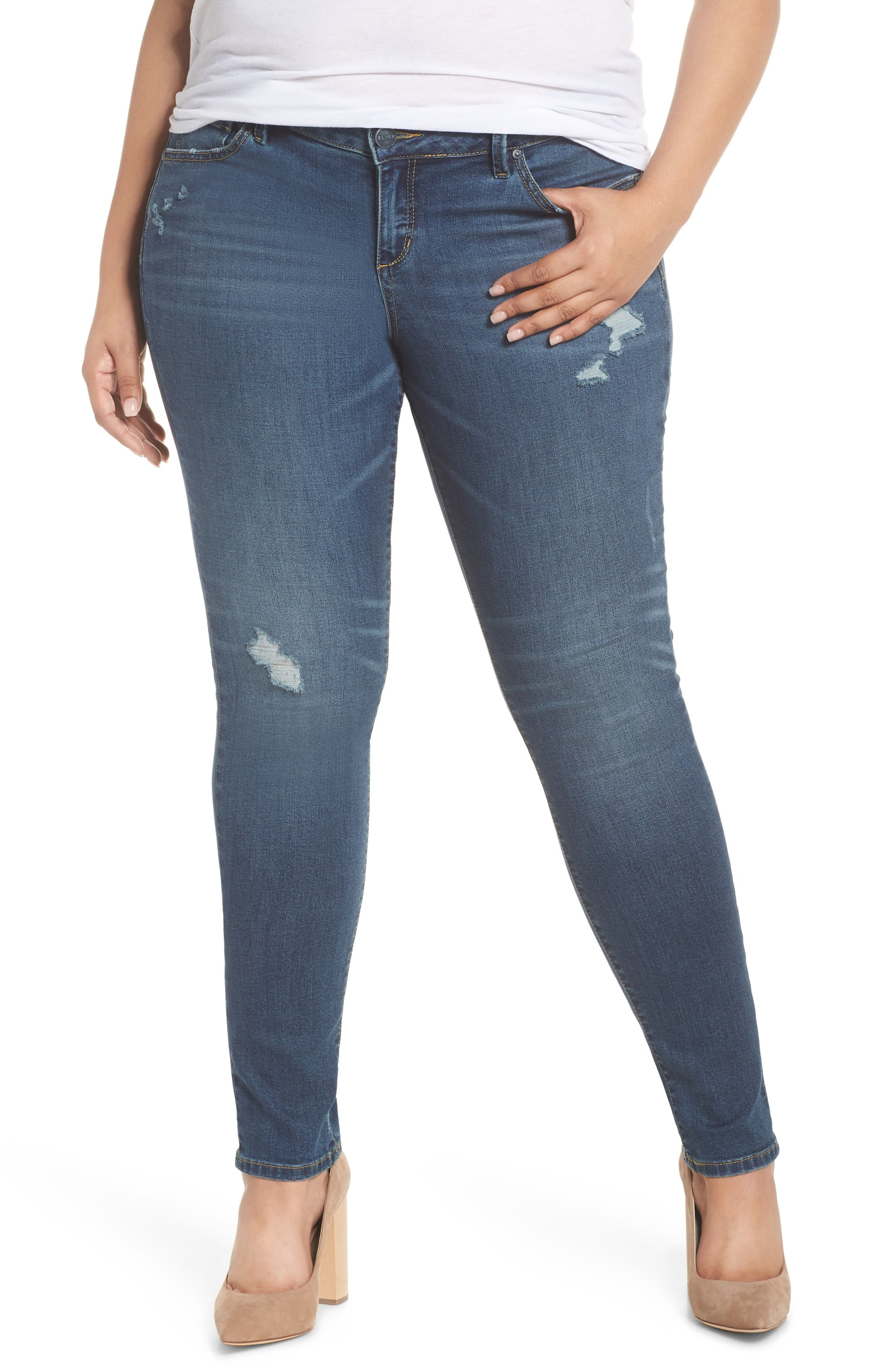 Plus Women's Slink Jeans Stretch Skinny Jeans