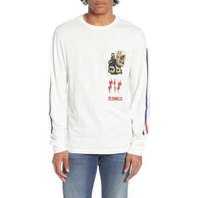 Stance Long Sleeve Graphic T-Shirt, White