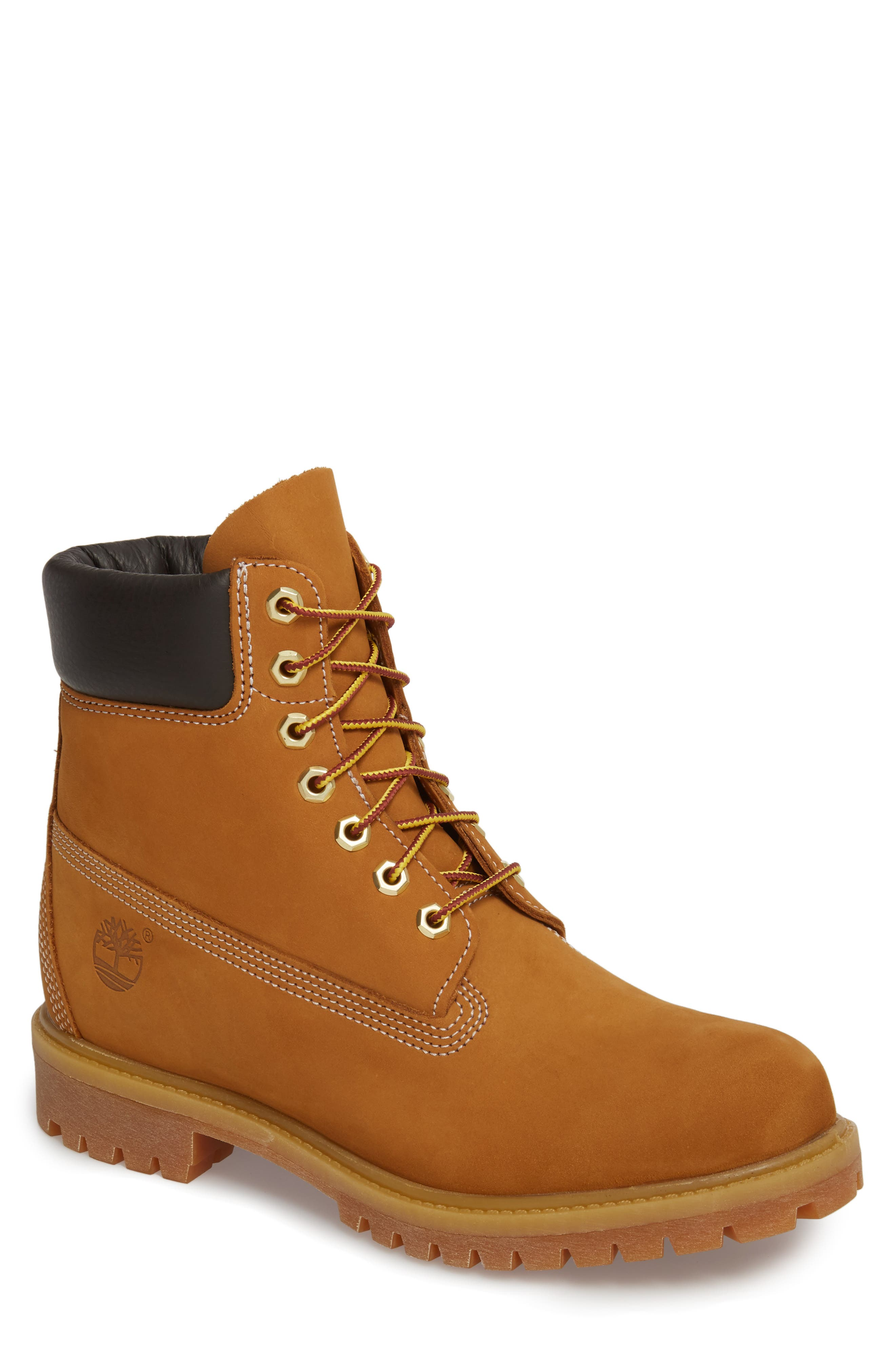 Six Inch Classic Waterproof Boots Series - Premium Waterproof Boot, Main, color, WHEAT