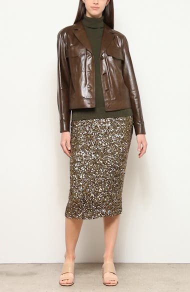 Theodosia Leather Jacket, video thumbnail