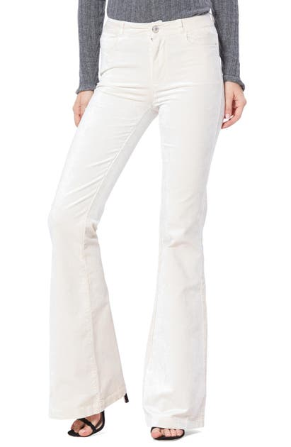 Paige Pants GENEVIEVE FLARE VELVET PANTS