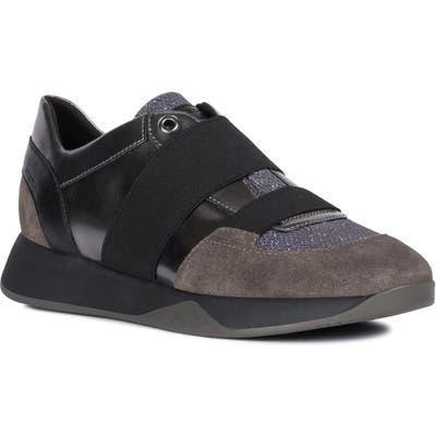 Geox Suzzie Slip-On Sneaker, Grey