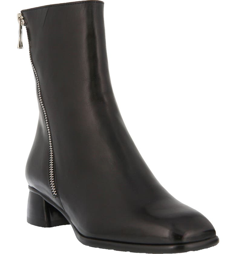 SPRING STEP Giachetta Boot, Main, color, BLACK LEATHER