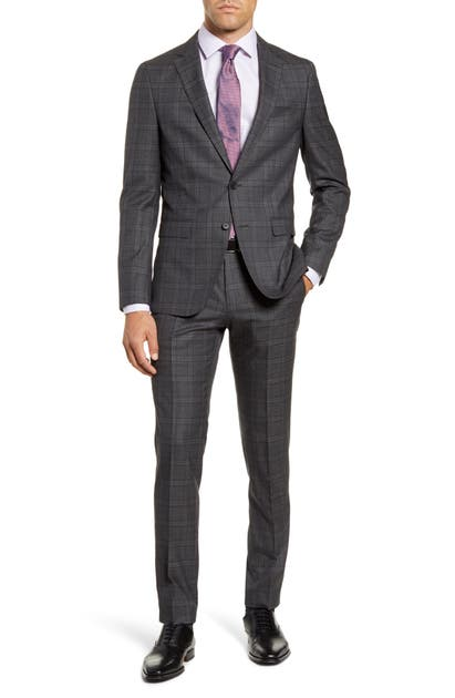 Boss Suits NOVA/BEN TRIM FIT WOOL SUIT