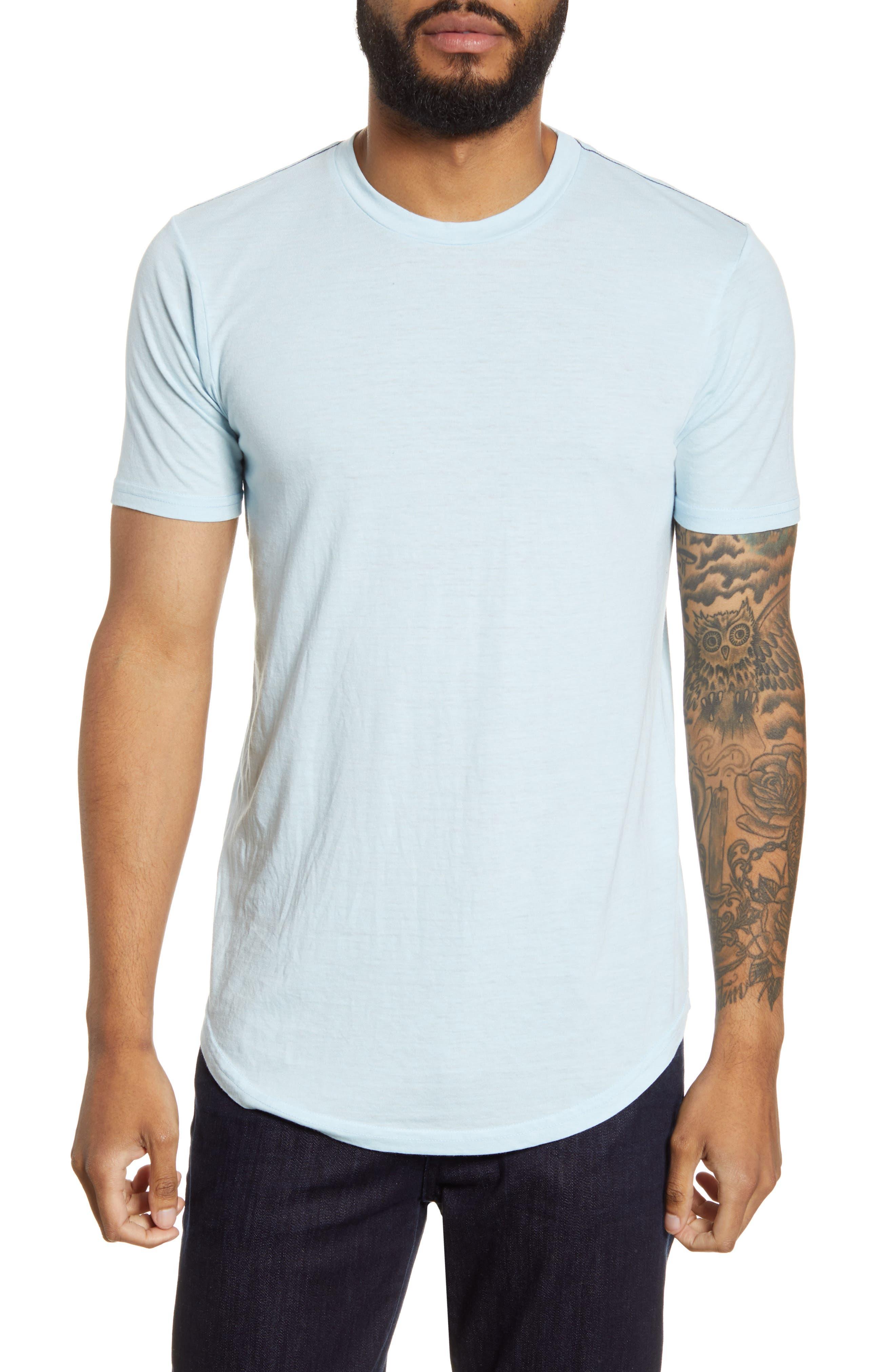 Triblend Scallop Crewneck T-Shirt