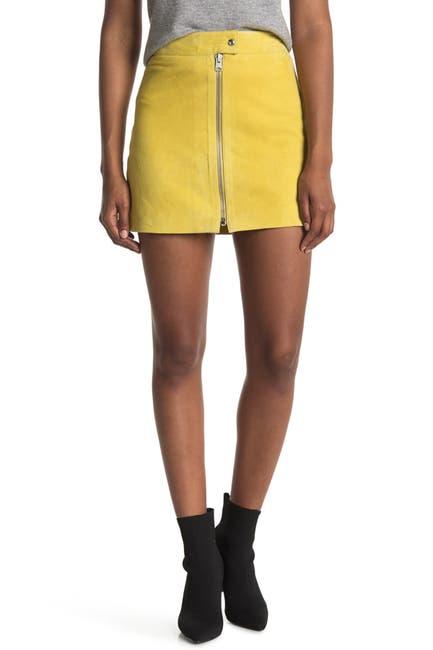 Image of ALLSAINTS Lena Suede Mini Skirt