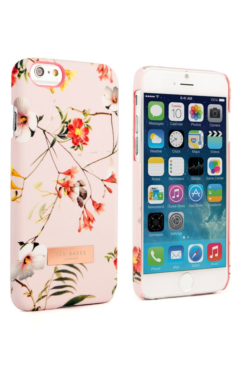 TED BAKER LONDON Simeto iPhone 6/6s Case, Main, color, 650