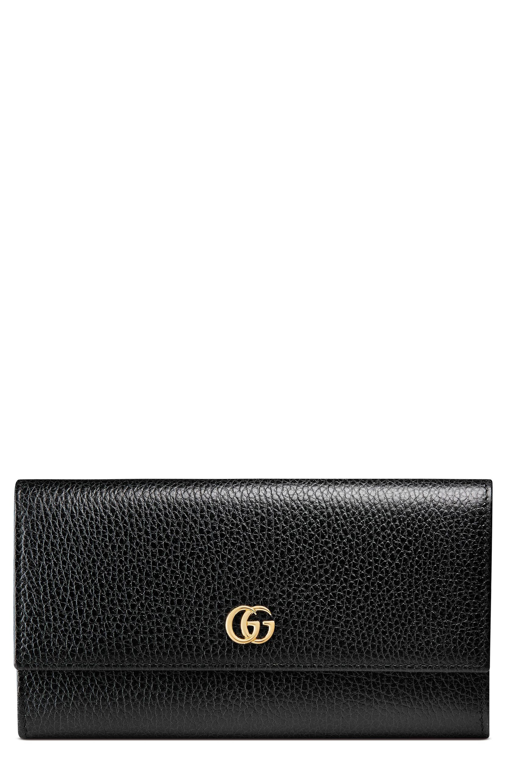 ee8cc33f04a0 Gucci Petite Marmont Leather Continental Wallet | Nordstrom