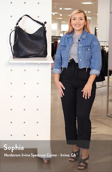 Faux Leather Hobo, sales video thumbnail