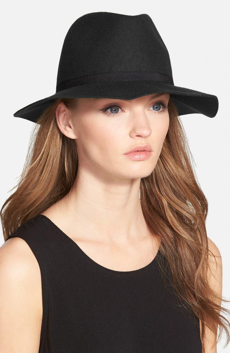 HINGE Wool Felt Panama Hat, Main, color, 001