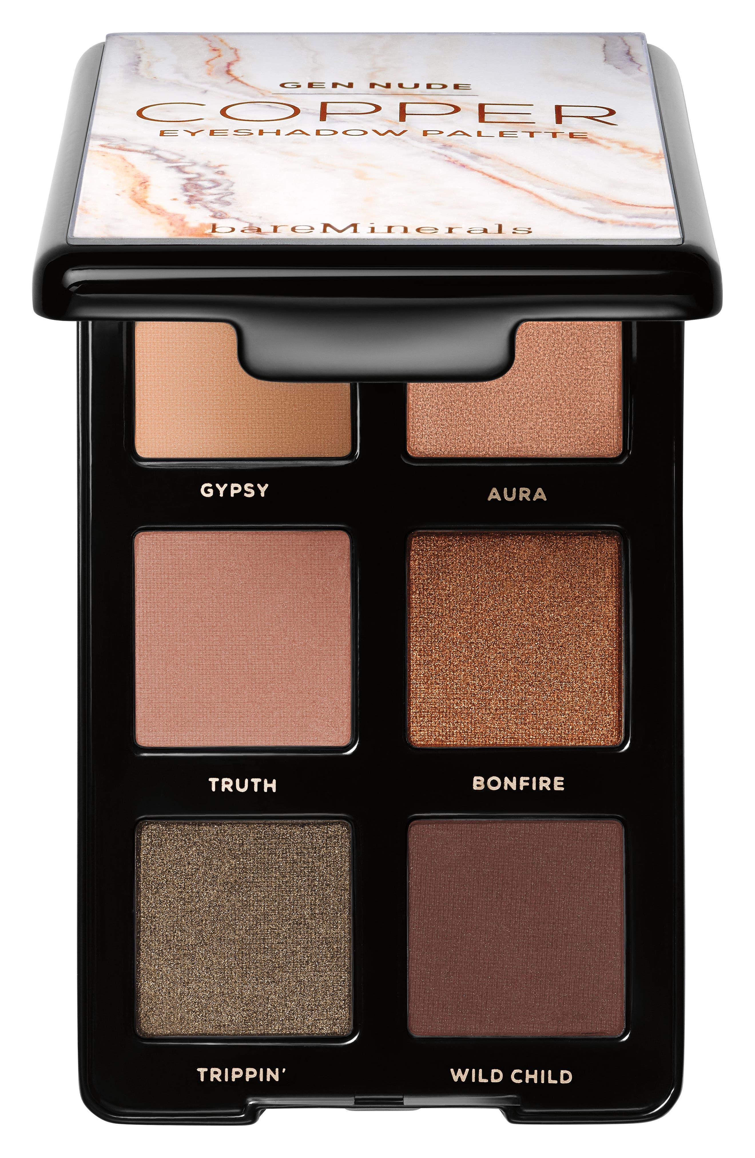 0bf67635bc7 Bareminerals Gen Nude Eyeshadow Palette - Copper