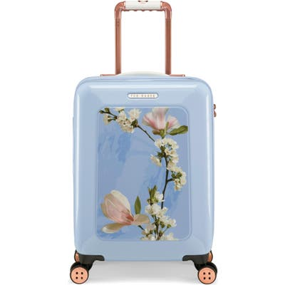 Ted Baker London Small Harmony 21-Inch Spinner Carry-On - Blue