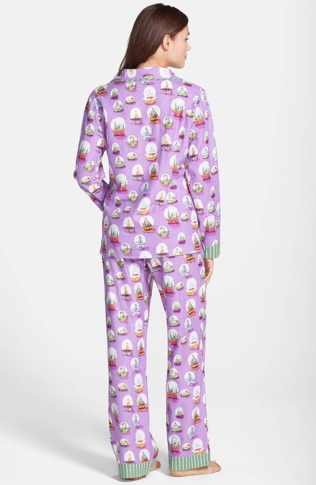 ,                             Flannel Pajamas,                             Alternate thumbnail 56, color,                             501