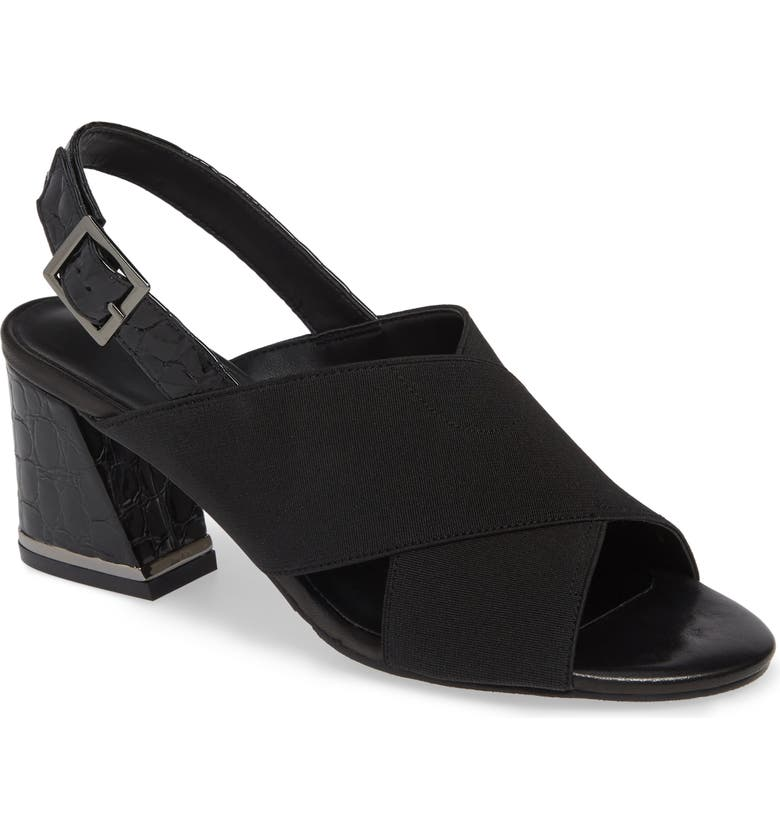 VANELI Bamba Slingback Sandal, Main, color, BLACK