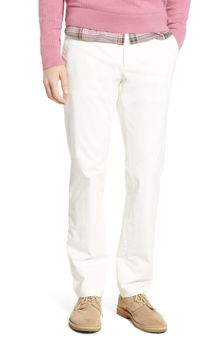 TODD SNYDER + Champion Stretch Twill Chino Pants, Main, color, 100