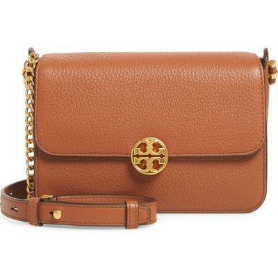 Tory Burch Chelsea Leather Crossbody Bag - Brown