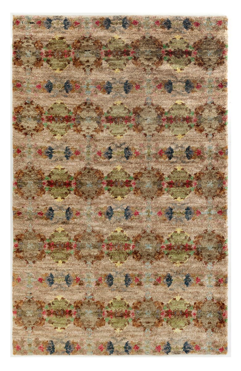 DASH & ALBERT Hickory Hand Knotted Rug, Main, color, MULTI