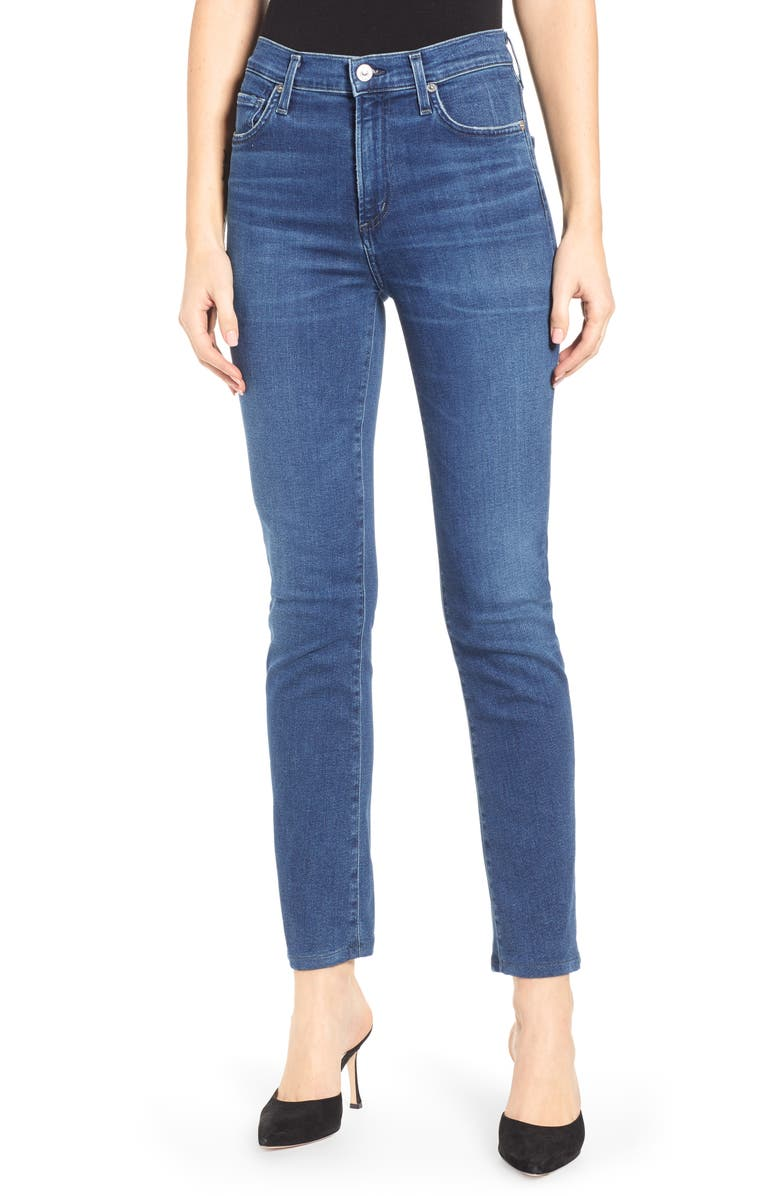 CITIZENS OF HUMANITY Sculpt - Harlow Crop Slim Jeans, Main, color, GLORY