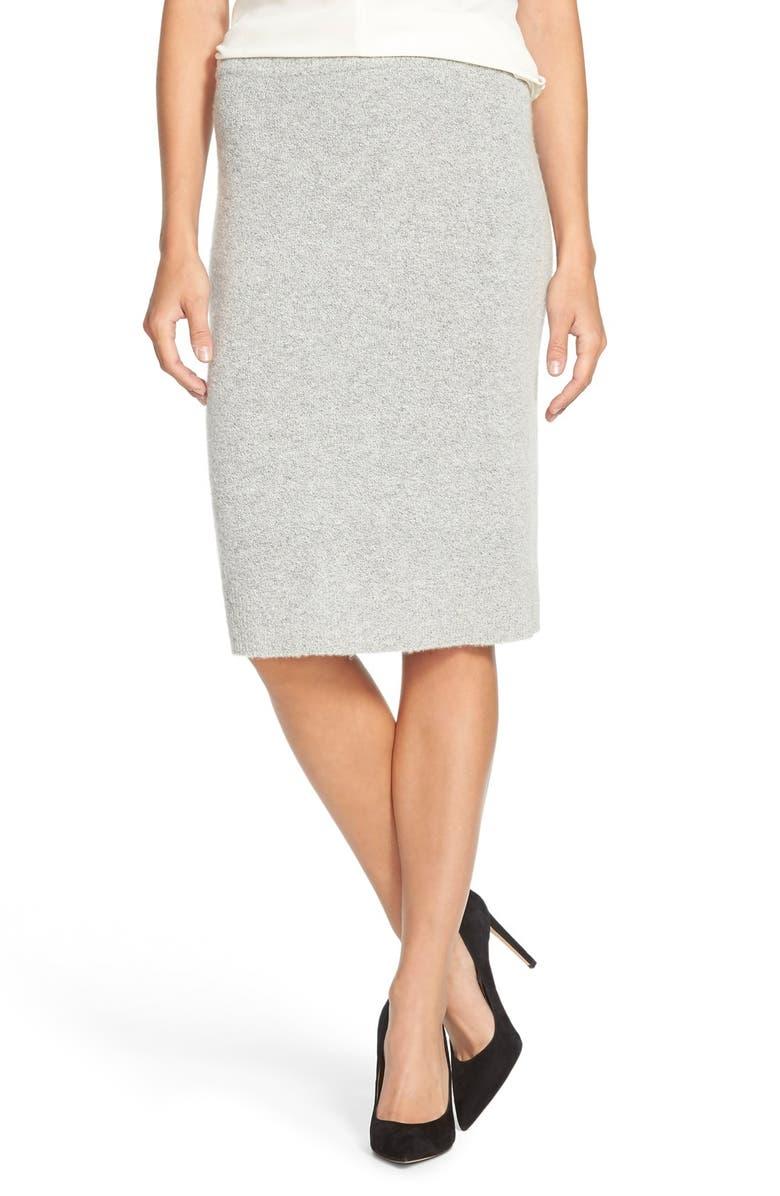 d7b76a654 Halogen® Sweater Knit Pencil Skirt (Regular & Petite) | Nordstrom