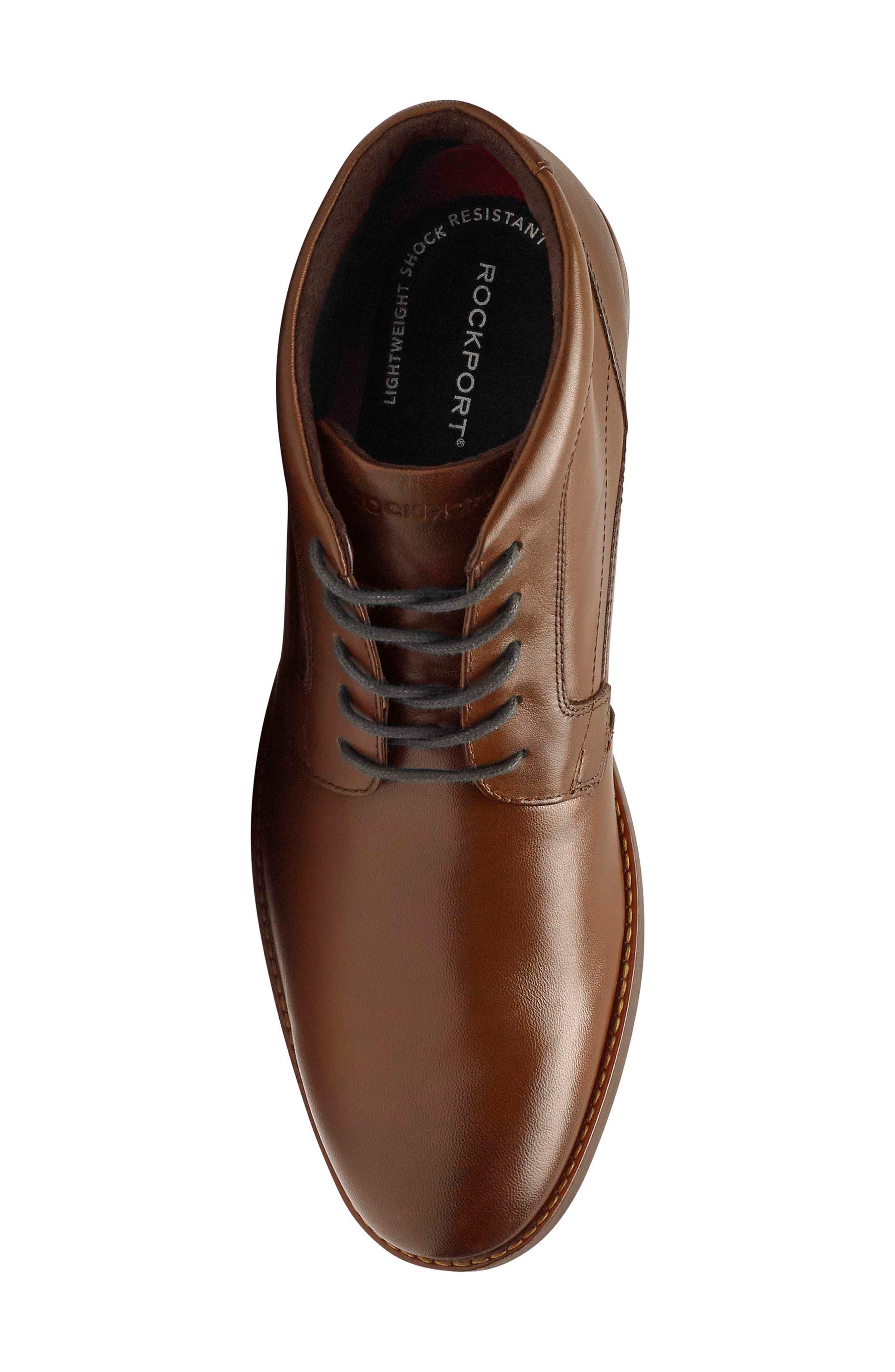Dustyn Waterproof Leather Chukka Boot
