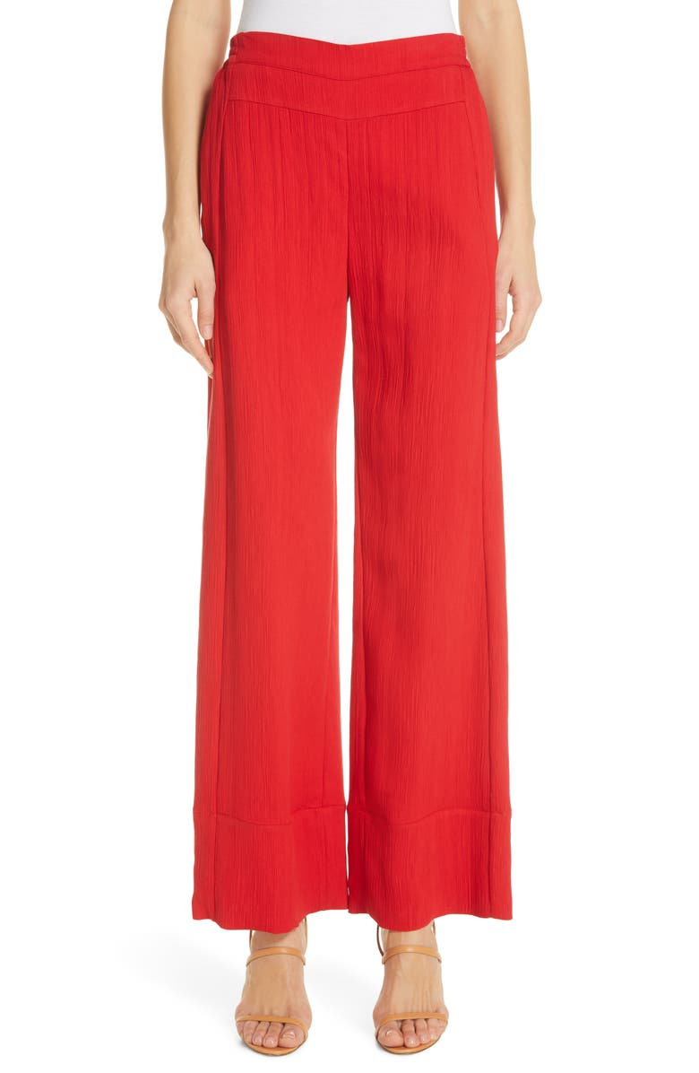 PALMER/HARDING Silence Wide Leg Pants, Main, color, 600