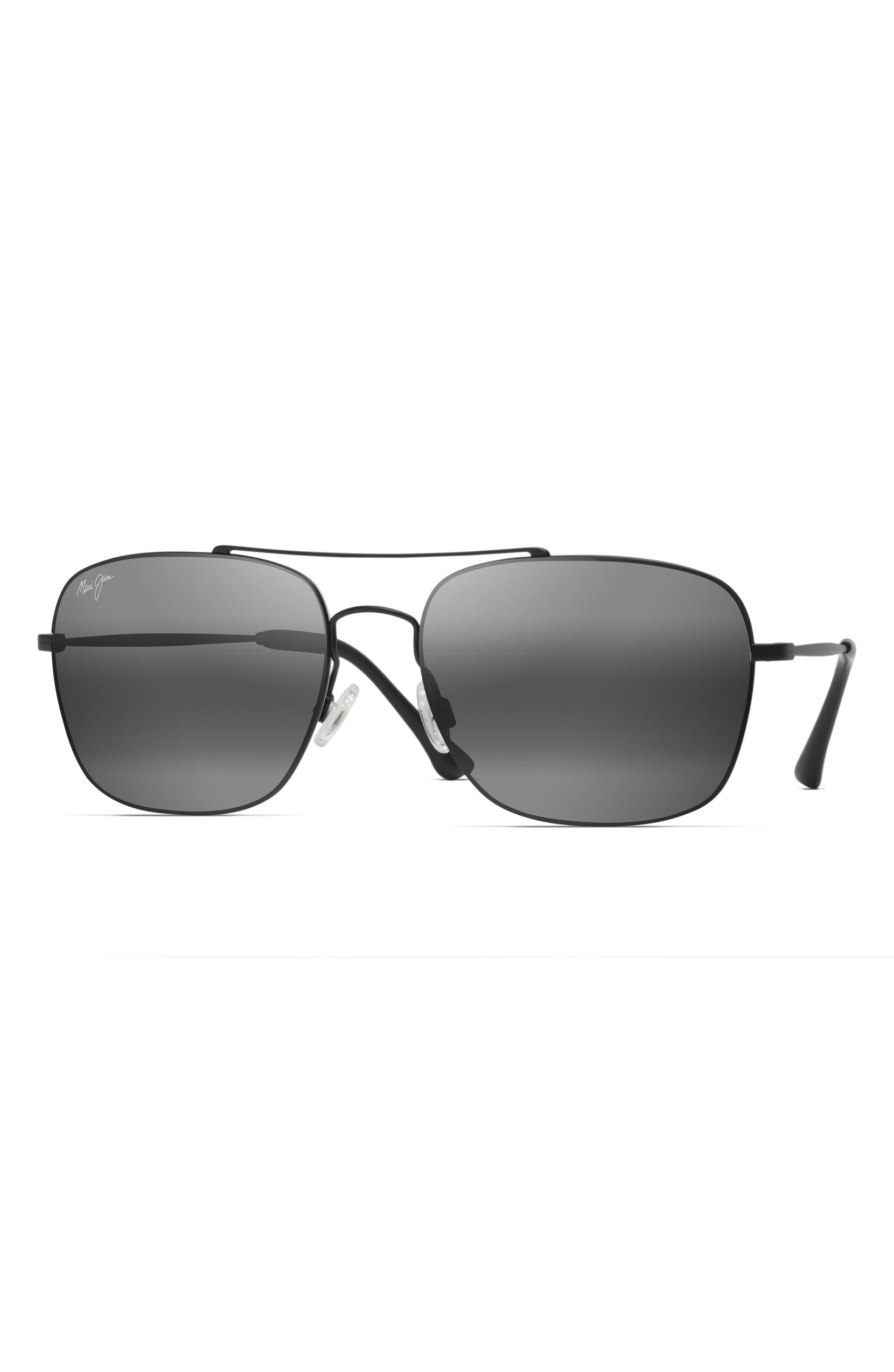 d9803bcc3928 Maui Jim Lava Tube 57mm PolarizedPlus2® Aviator Sunglasses | Nordstrom
