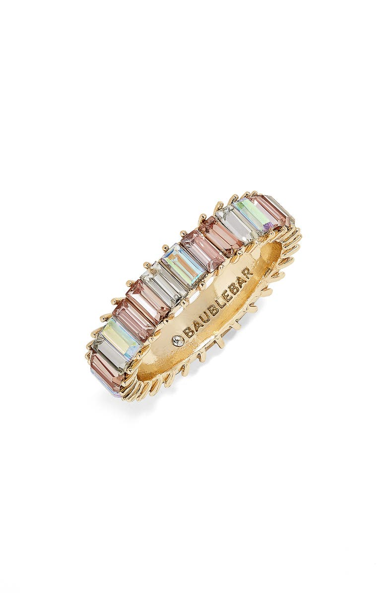 BAUBLEBAR Mini Alidia Ring, Main, color, IRIDESCENT