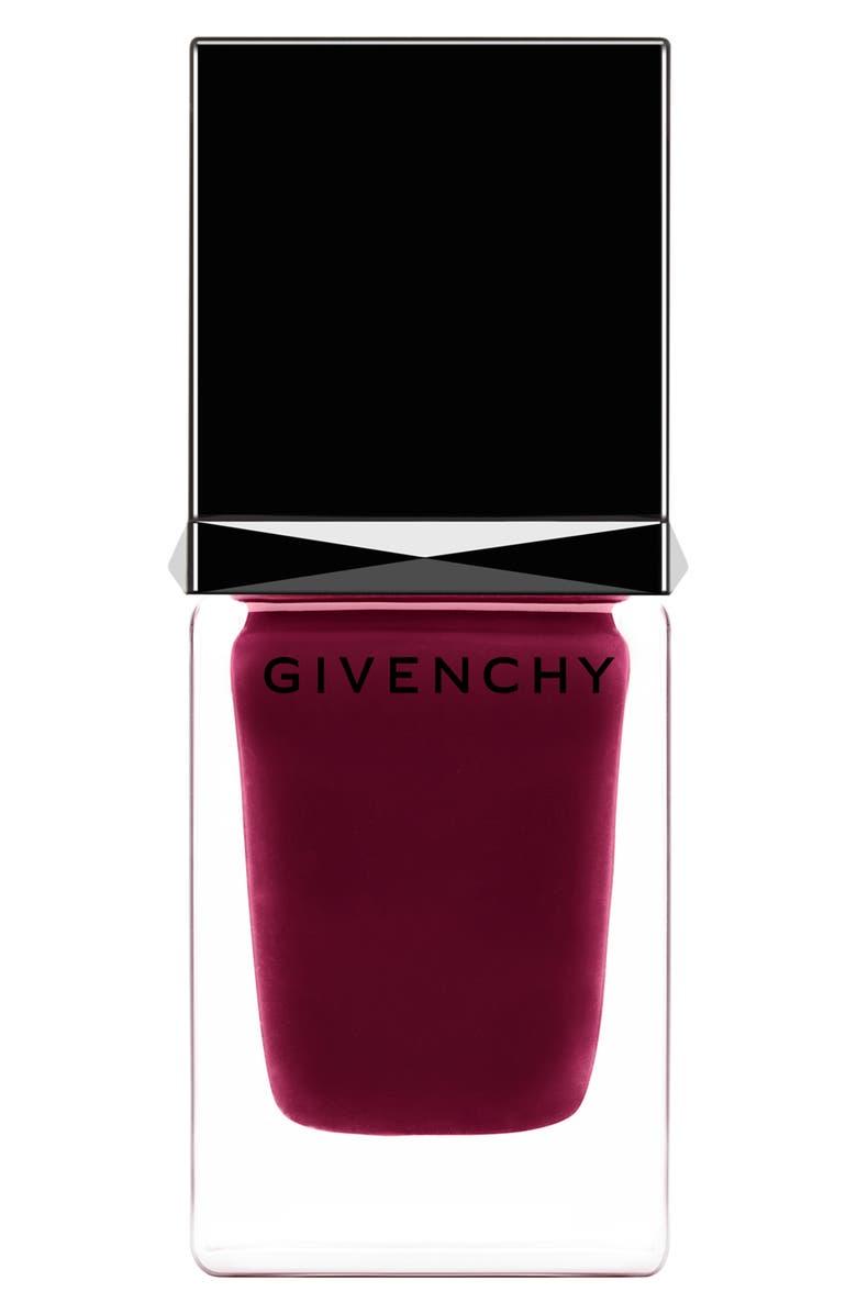 GIVENCHY Le Vernis Nail Polish, Main, color, 7 POURPRE EDGY