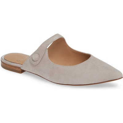 Linea Paolo Darling Open Top Mule- Grey