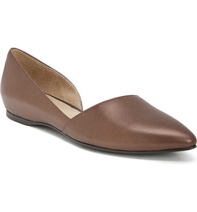 NATURALIZER Samantha 2 Flat, Main, color, COCOA PEARL LEATHER