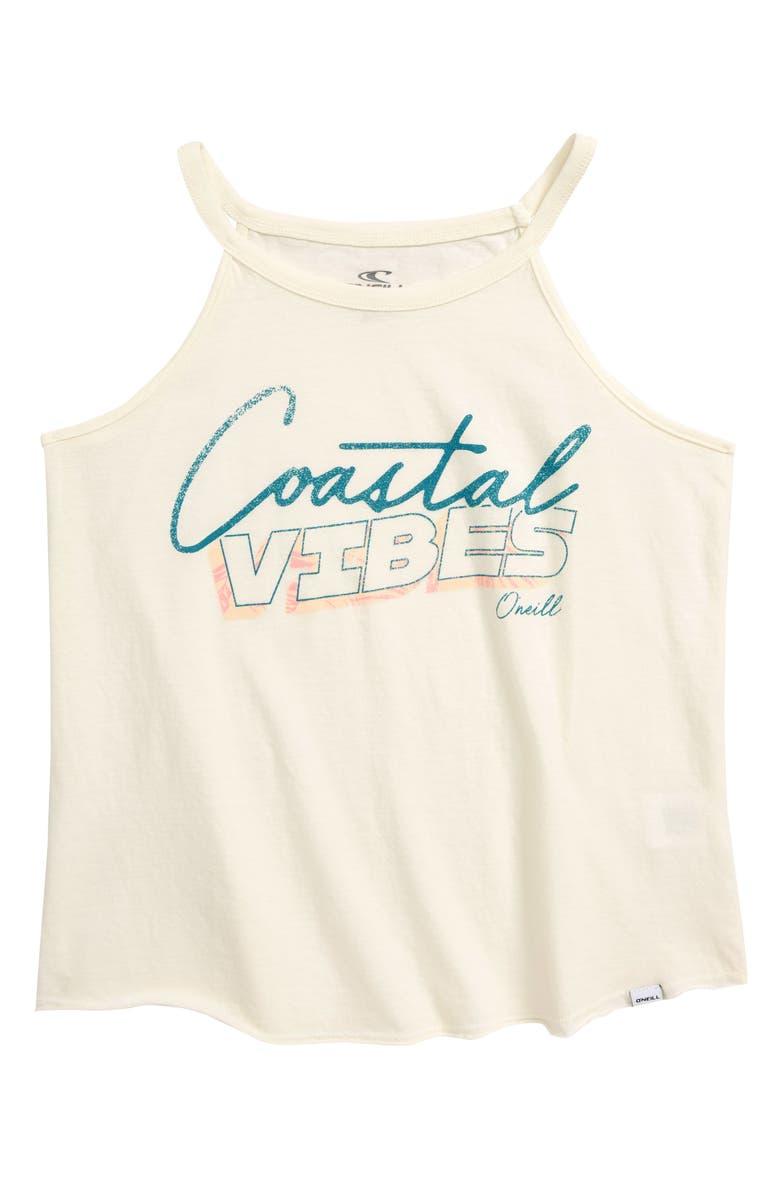 O'NEILL Coasting Screen Print Tank Top, Main, color, 250