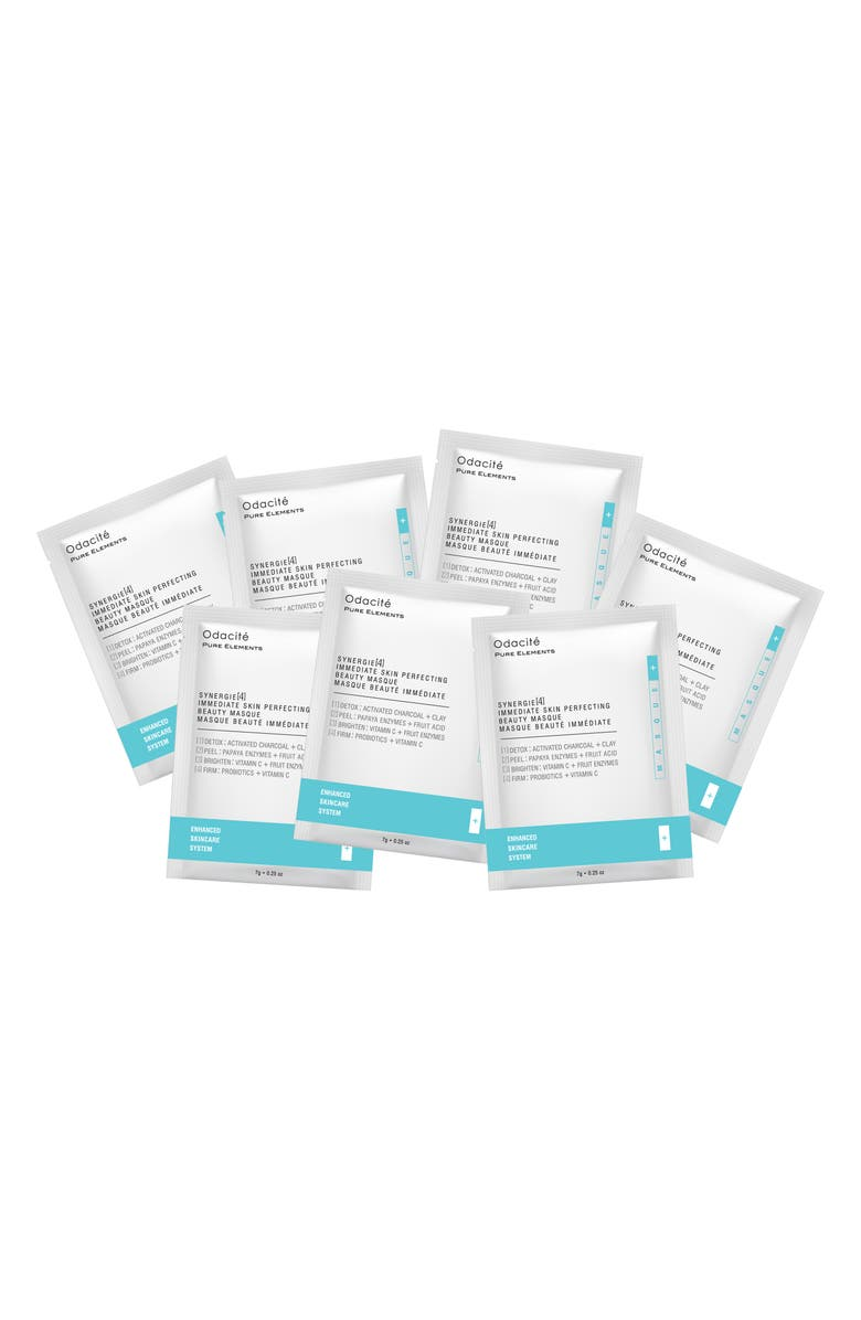 ODACITÉ Synergie[4] Immediate Skin Perfecting Beauty Masque Sachet Box Set, Main, color, 000