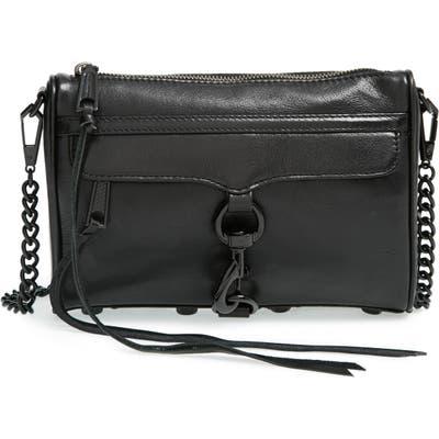 Rebecca Minkoff Mini MAC Convertible Crossbody Bag - Black