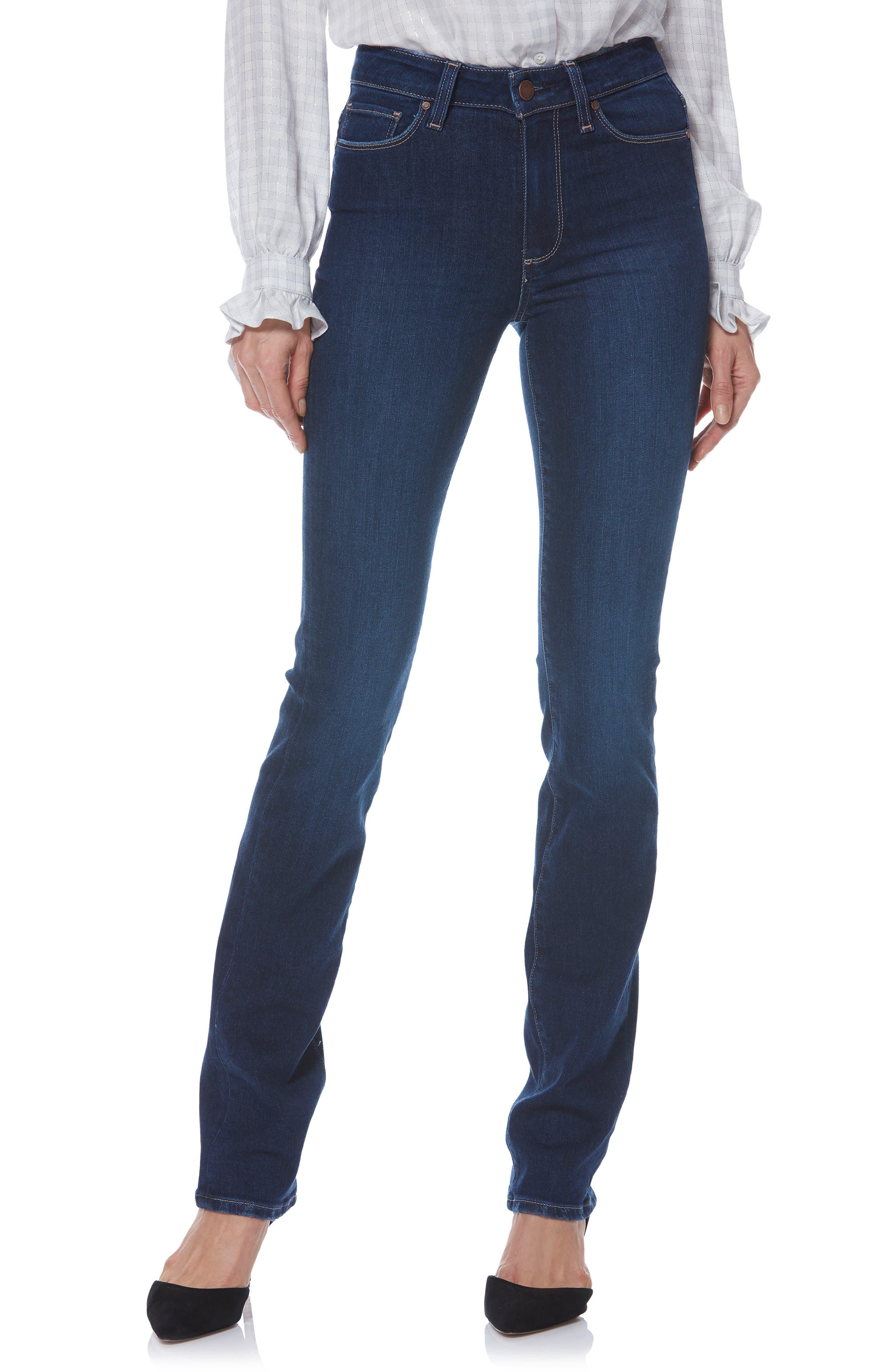 Image of PAIGE Transcend Vintage - Hoxton Straight Leg Jeans