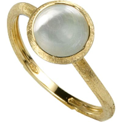 Marco Bicego Jaipur Mother-Of-Pearl Stackable Ring