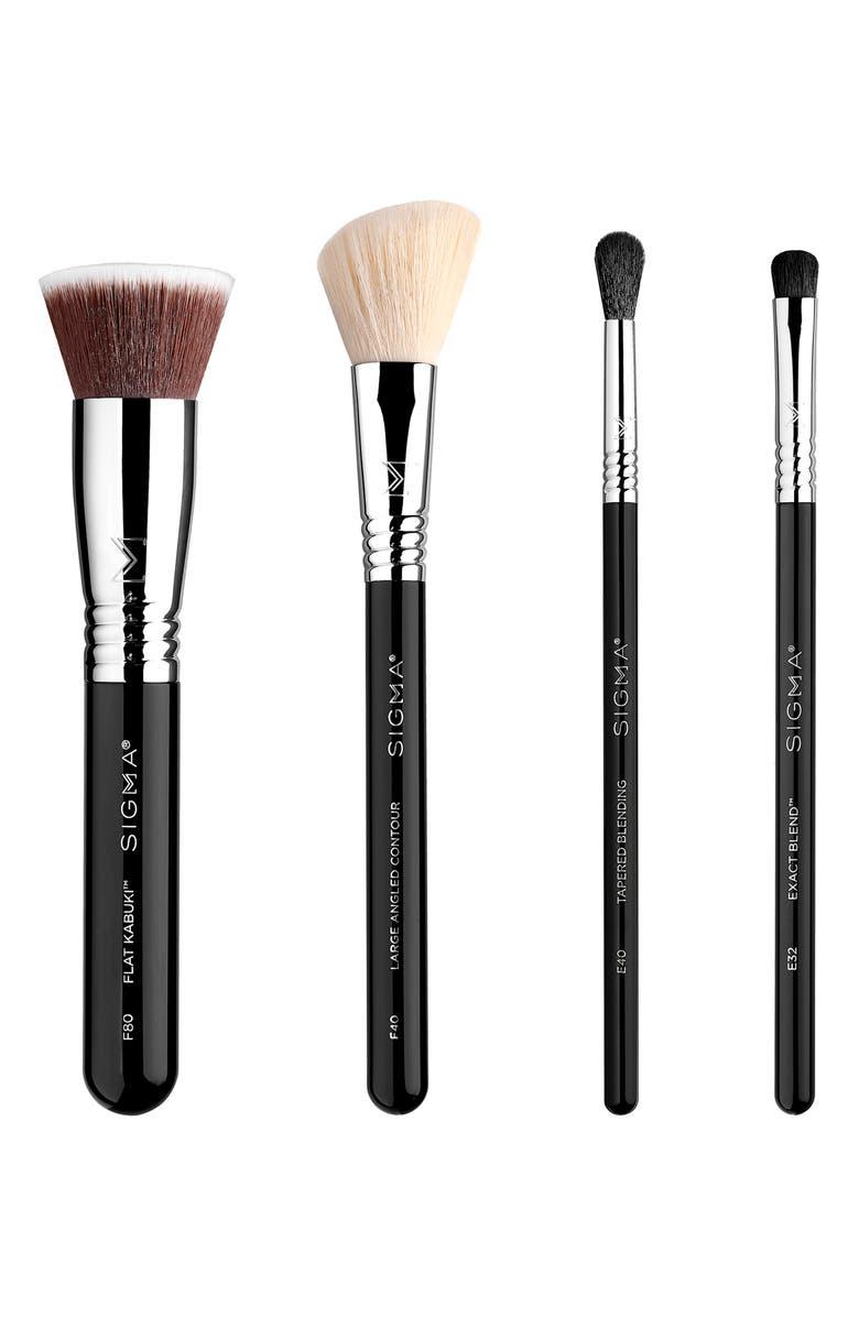 SIGMA BEAUTY Timeless Beauty Brush Set, Main, color, NO COLOR