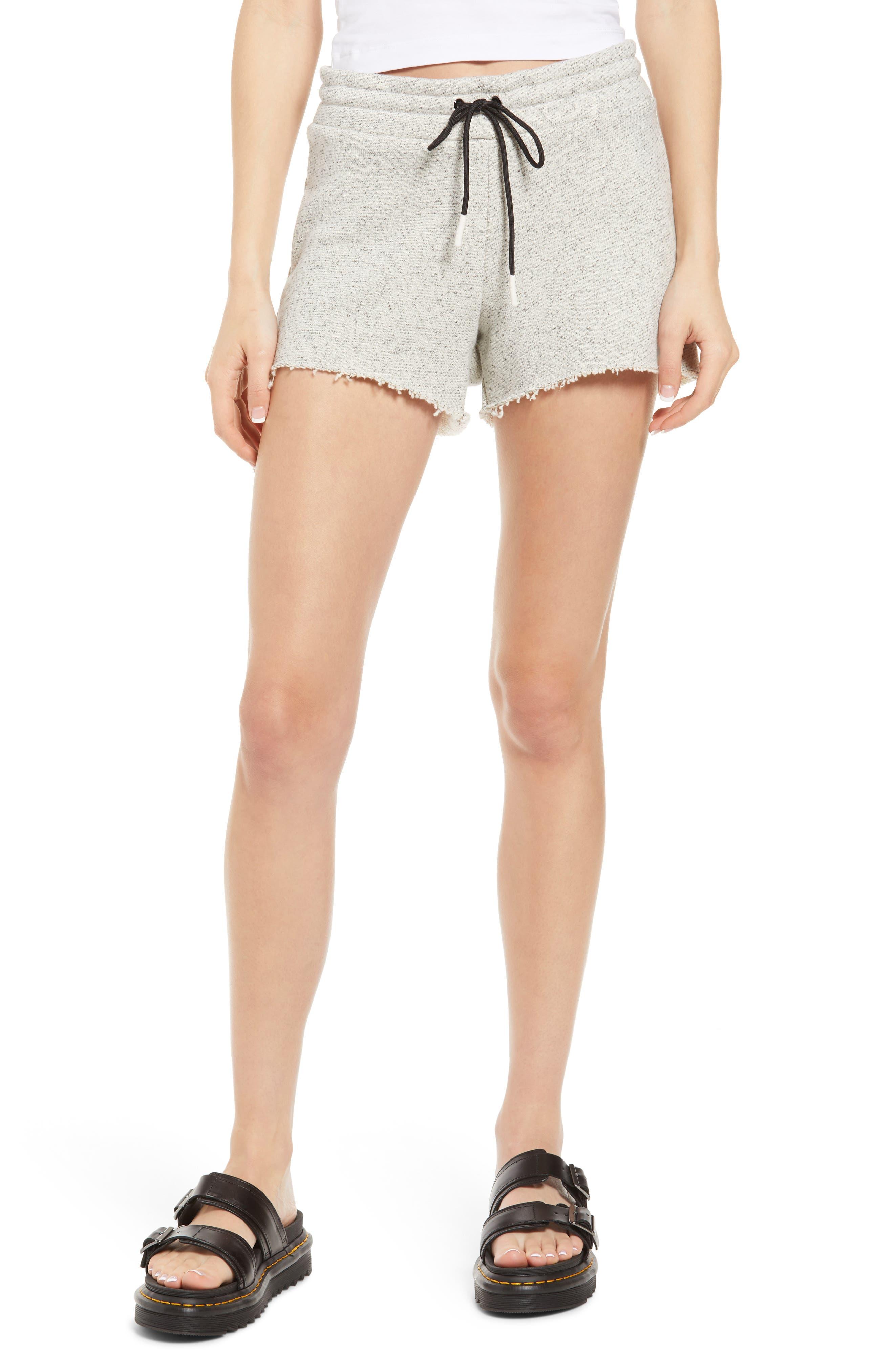 Cutoff Cotton Shorts