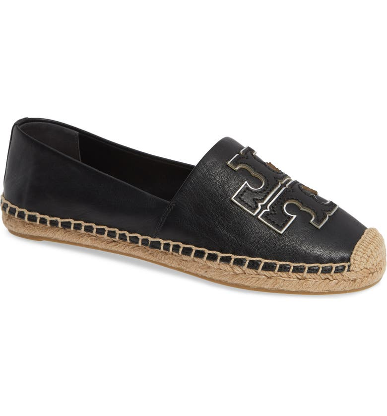 TORY BURCH Ines Espadrille, Main, color, PERFECT BLACK / SILVER
