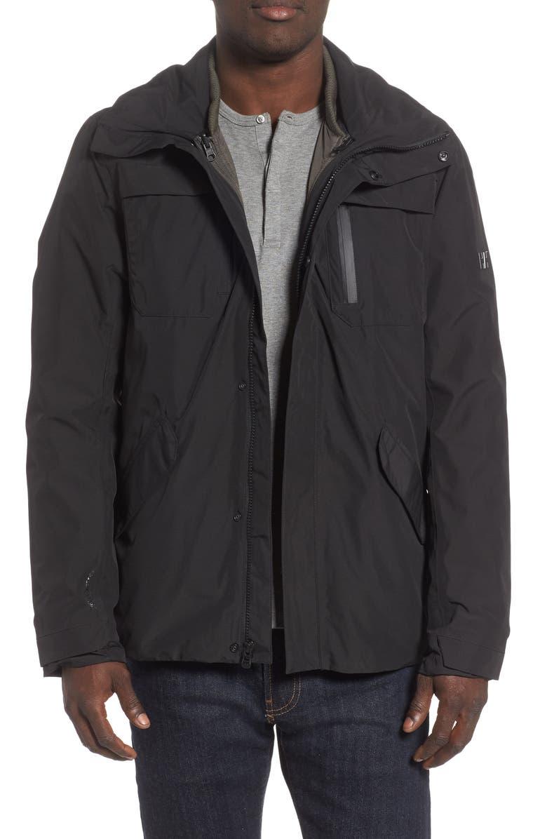 HELLY HANSEN Reykjavik Regular Fit Waterproof PrimaLoft<sup>®</sup> 3-in-1 Jacket, Main, color, 001