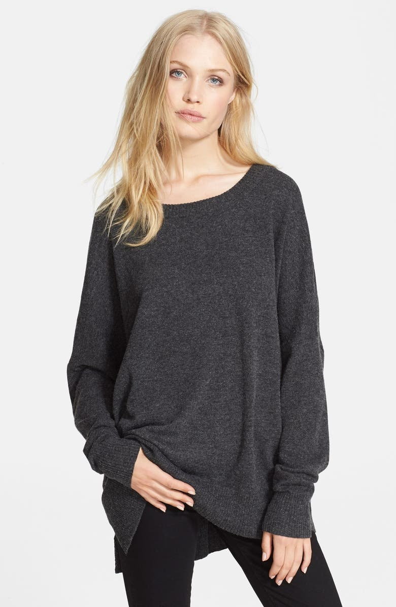 L'AGENCE Oversize Sweater, Main, color, 020