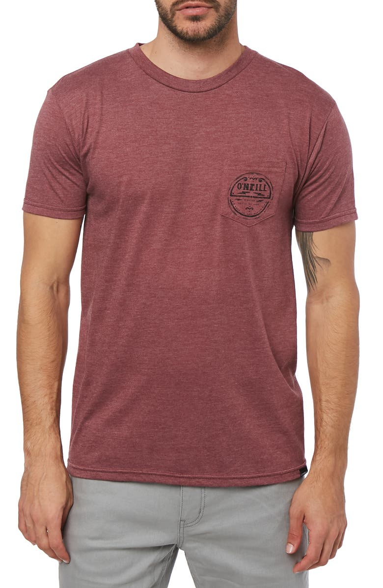 O'NEILL Record Graphic Pocket T-Shirt, Main, color, 930