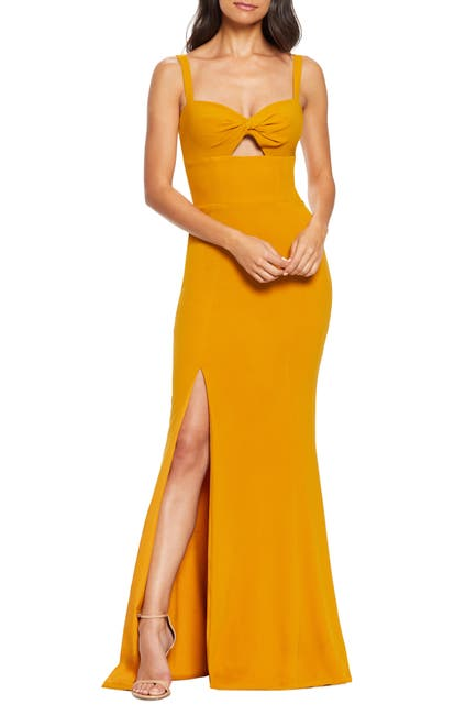 Image of Dress the Population Brooke Cutout Gown