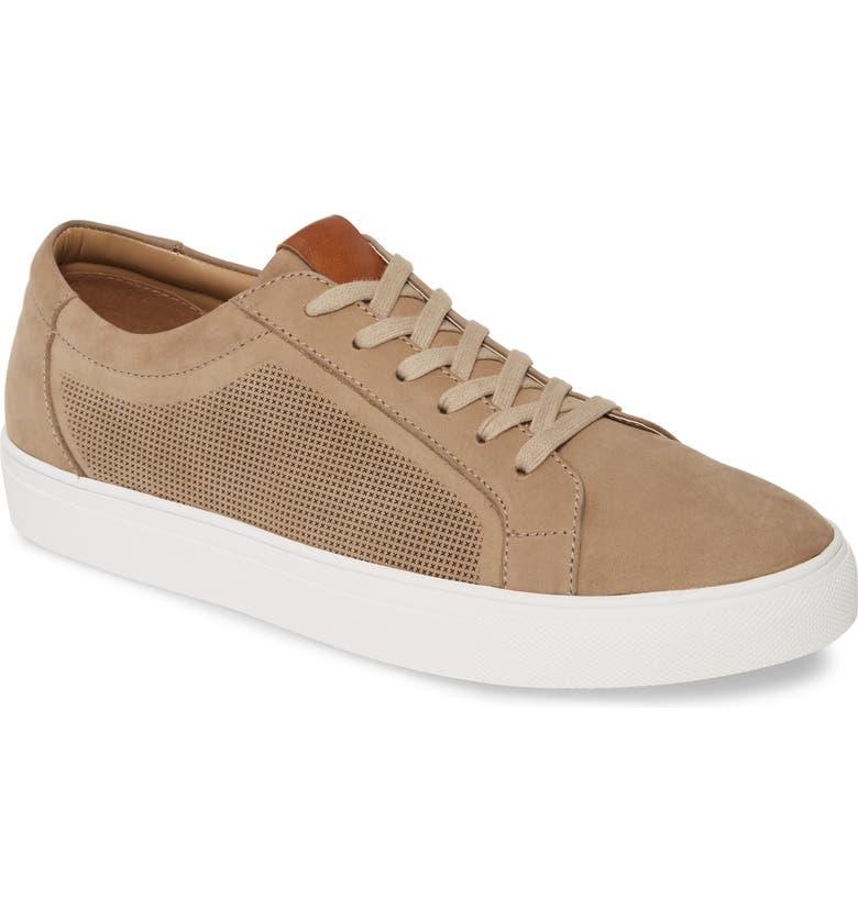 NORDSTROM MEN'S SHOP Sawyer Sneaker, Main, color, SAND NUBUCK