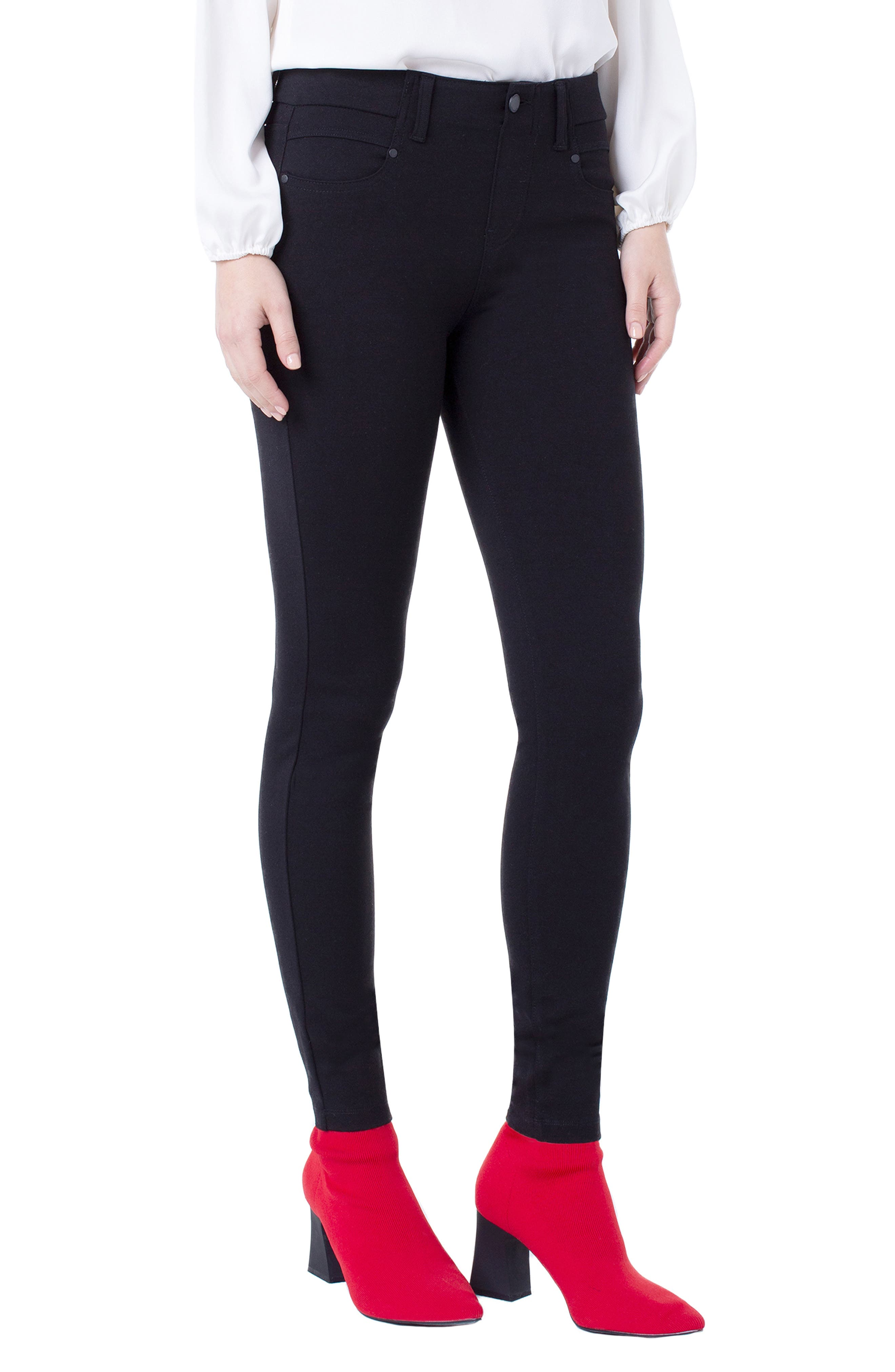 Gia Glider Knit Pull-On Pants
