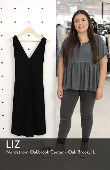 Rib Knit Midi Dress, sales video thumbnail